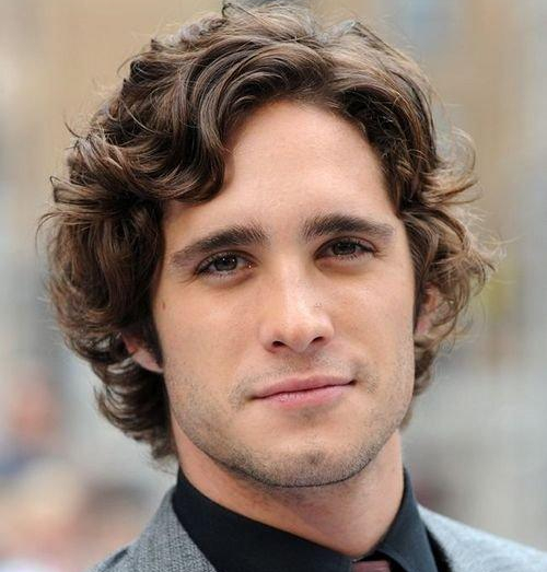 Прически мужские с вьющимися волосами
